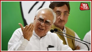 Shatak Aajtak: Kapil Sibal Holds Press Confrence On CJI Impeachment Controversy - AAJTAKTV