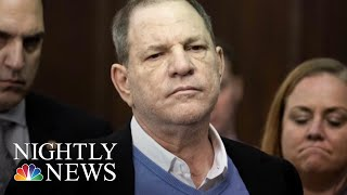 Weinstein Surrenders To Police, Facing Charges Of Rape And Criminal Sex Acts | NBC Nightly News - NBCNEWS