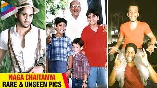 Naga Chaitanya Rare & Unseen Pics | Childhood Pictures | Akkineni Hero Photos
