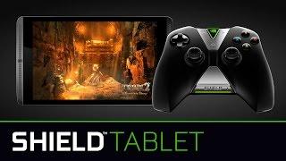"""""""إنفيديا"""" تكشف عن حاسبها اللوحي المخصص للألعاب Shield Tablet"""