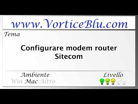 (Middle Mac) Configurare modem router