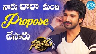 I Never Proposed Anyone - Aadhi Pinisetty || Talking Movies With iDream - IDREAMMOVIES
