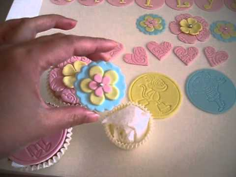 Dora & Pretty Cupcake Toppers for Sale