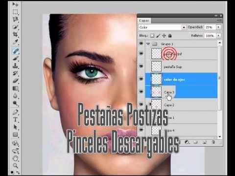 Tutorial Photoshop Cs5 Como Editar una Foto Estilo Revista.flv