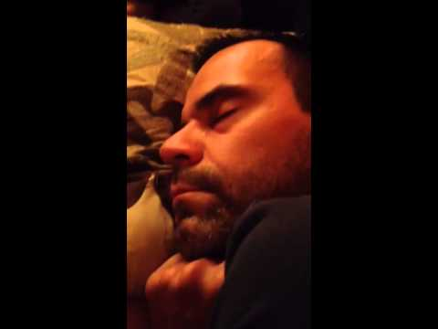Sleeping daddy