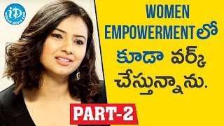 Actress & Social Activist Isha chawla Interview Part #2 || Face To Face With iDream Nagesh - IDREAMMOVIES