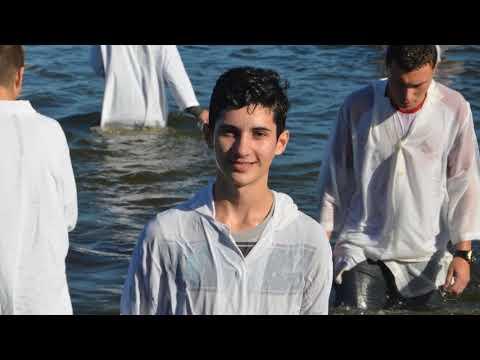 Batismo nas águas - Lagoa dos Freitas - AD Içara -  19 de maio de 2019