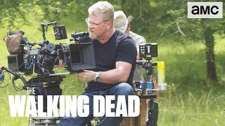 'Jesus & Aaron's Confrontation' Making of Ep. 907 BTS | The Walking Dead - AMC