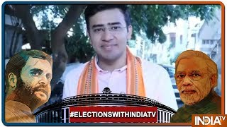 Lok Sabha Elections 2019: Bjp Candidate Tejaswi Surya Casts His Vote - INDIATV