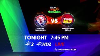 Bengal Warriors Vs Bengaluru Bulls - 30th July - ESPNSTAR