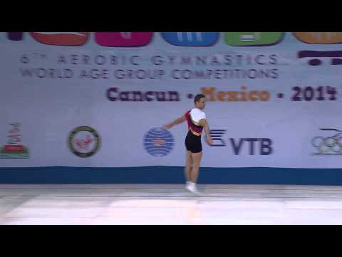 2014 World Aerobic Gymnastics Championships - Men's and Women's Individual