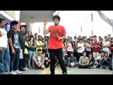 Neeraj Yadav representing I AM HIPHOP CREW at IndiaFest Footloose Mumbai Zonals