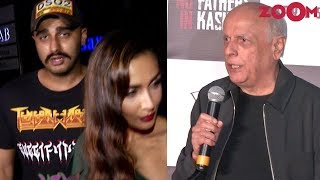 Arjun Kapoor & Malaika Arora spotted post dinner date | Mahesh Bhatt attends a trailer launch - ZOOMDEKHO