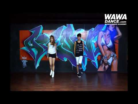 WAWA DANCE ACADEMY SISTAR TOUCH MY BODY DANCE STEP