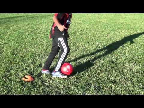 Soccer Training: Cuts and Turns