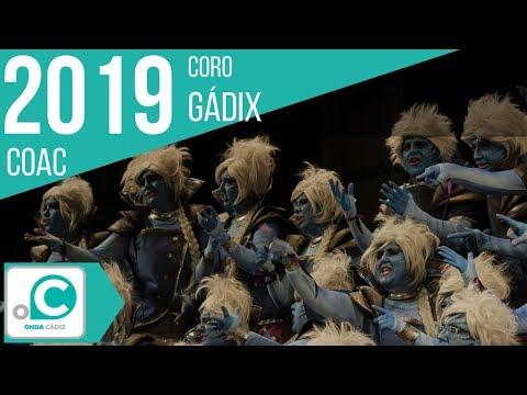 La agrupación Gadix llega al COAC 2019 en la modalidad de Coros. En años anteriores (2018) concursaron en el Teatro Falla como La Mari, consiguiendo una clasificación en el concurso de Preliminares.