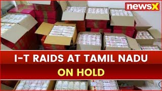 IT raids at Andipatti, Tamil Nadu on Hold; 4 Persons arrested for Obstructing IT Officials - NEWSXLIVE