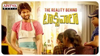 The Reality Behind Taxiwaala || Taxiwala Movie ||  Vijay Deverakonda, Priyanka jawalkar - ADITYAMUSIC