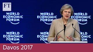 Theresa May's anticlimactic Davos speech | Davos 2017 - FINANCIALTIMESVIDEOS