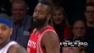 James Harden Drops 36 Points On The Knicks