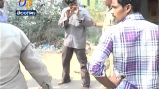 Husband Attacks Wife For Not Selling The Theft Material In Nizamabad - ETV2INDIA