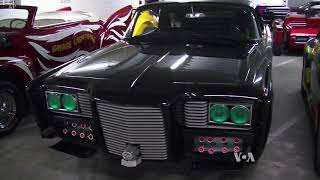 Treasure Trove of Cars Displayed in a Secured Underground Vault - VOAVIDEO