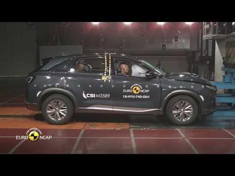 Autoperiskop.cz  – Výjimečný pohled na auta - Hyundai NEXO je prvním elektromobilem s palivovým článkem, který získal nejvyšší pětihvězdičkové hodnocení Euro NCAP