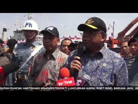 Puncak Peringatan Hakteknas: Kemenristekdikti Luncurkan Kapal Riset Rigel Baruna Jaya