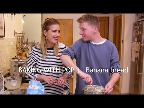 BANANA BREAD || BAKING WITH POP