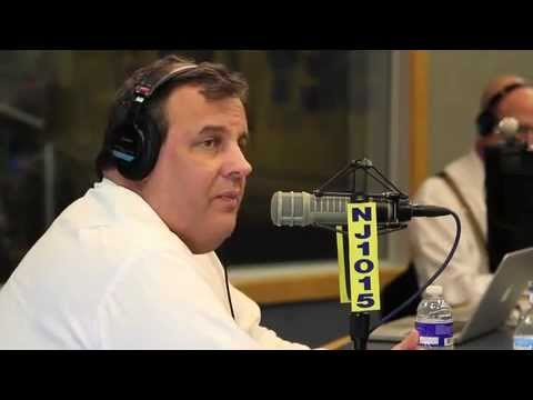 Governor Christie Talks About Income Tax Refund