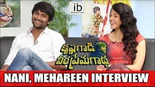 Nani   Mehareen Exclusive Interview about Krishna Gaadi Veera Prema Gaadha Movie - idlebrain.com - IDLEBRAINLIVE