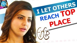 I Let Others Reach Top Place - Samantha || Talking Movies With iDream || #Brahmotsavam - IDREAMMOVIES