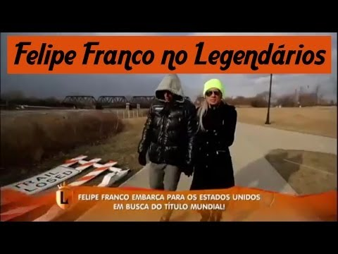 Reality Felipe Franco e Juju Salimeni para o Legendários