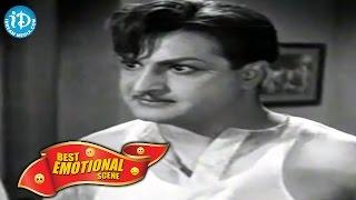 Telugu Movies    Best Emotional Scene    Intiki Deepam Illale Movie    NTR, B Saroja Devi, Girija - IDREAMMOVIES