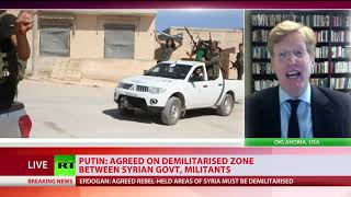 Putin & Erdogan agree Idlib buffer zone to avert new Syria crisis - RUSSIATODAY