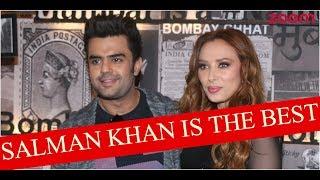 Salman Khan Is A Brillaint Human Being Says Iulia Vantur & Maniesh Paul   Bollywood News - ZOOMDEKHO
