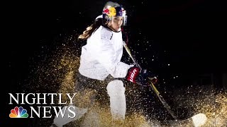 Hilary Knight Chases Olympic Gold For U.S. Women's Hockey | NBC Nightly News - NBCNEWS