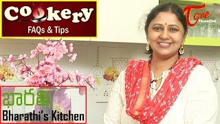 Cookery Tips & FAQs || How to Prepare Bread Omelette - TELUGUONE