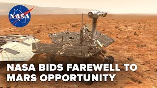 NASA says goodbye to Mars rover Opportunity after 15 years - CNETTV