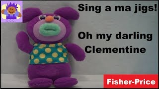 "2010 Sing-a-ma-jigs ""Oh My Darling, Clementine"" Purple ..."