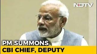 PM Modi Intervenes In Big CBI War, Summons Its Top Two Officers - NDTV