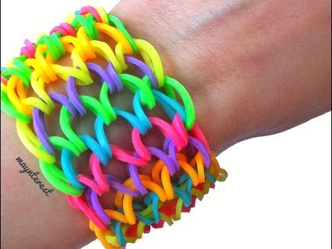 Pulsera de gomitas Escamas de dragón  / Dragon scale cuff bracelet