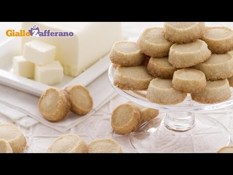 Sablé cookies - recipe