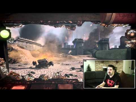AngryJoe Plays Steel Battalion Kinect