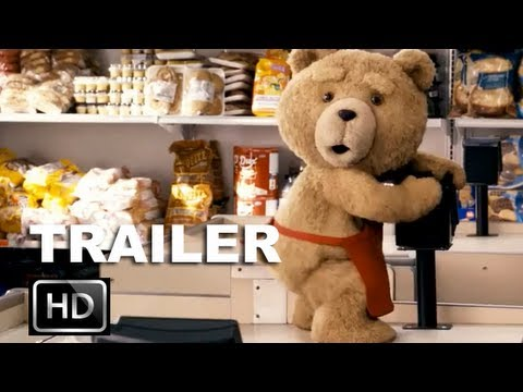 Ted Official Red Band Trailer [HD]: Mark Wahlberg Wishes His Teddy Bear To Life: ENTV