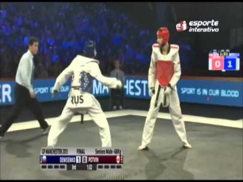 Em final apertada, Denisenko vence canadense no Grand Prix de Taekwondo!