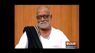 Morari Bapu in Aap Ki Adalat: Spiritual leader responds to questions on Ram Mandir, Hanuman's caste - INDIATV