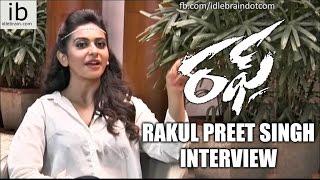Rakul Preet Singh interview about Rough - idlebrain.com - IDLEBRAINLIVE