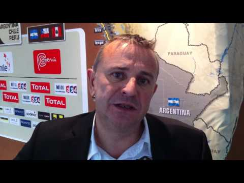 Dakar 2012 : Etienne Lavigne Directeur du Dakar .