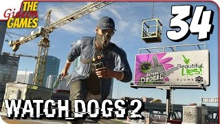WATCH DOGS 2  Прохождение #34  C@cTu_X@k3pA